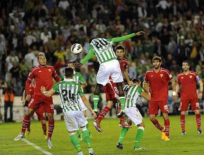 Nosa marca gol Betis Sevilla