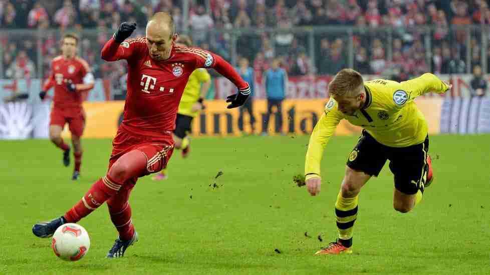Arjen Robben Bayern Dortmund