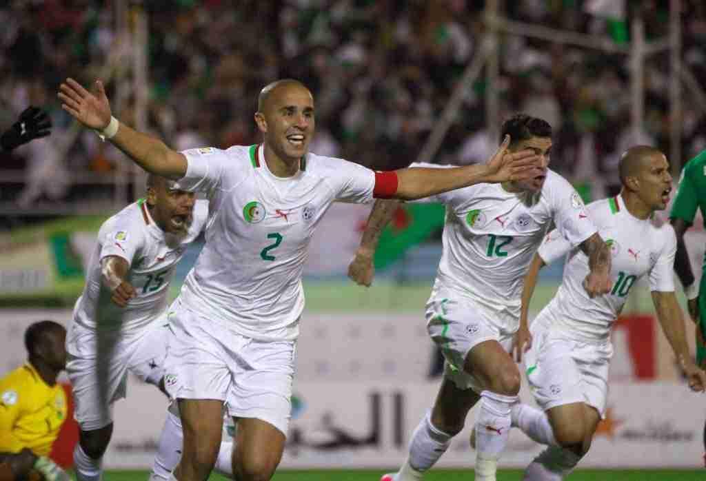 Así celebró Argelia su clasificación frente a Burkina Faso
