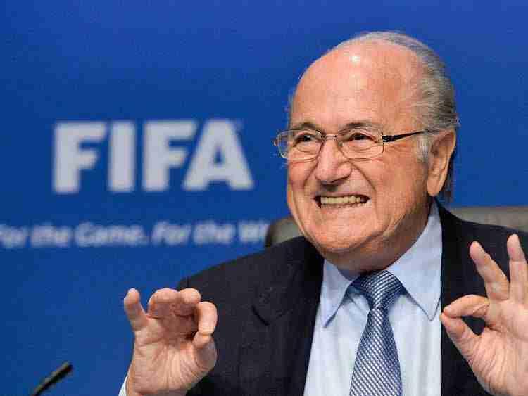 Presidente de la FIFA Joseph Blatter
