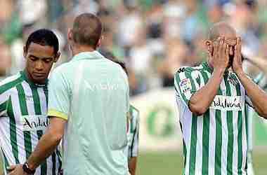 Descenso a Segunda Real Betis