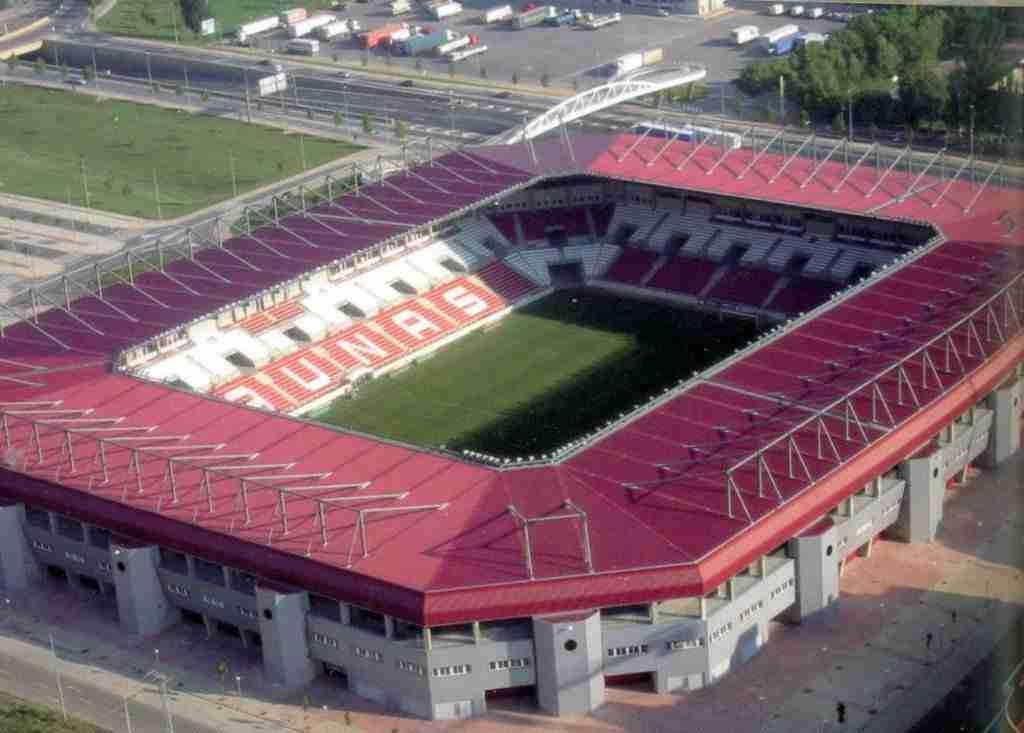 Las Gaunas estadio del CD Logroñés