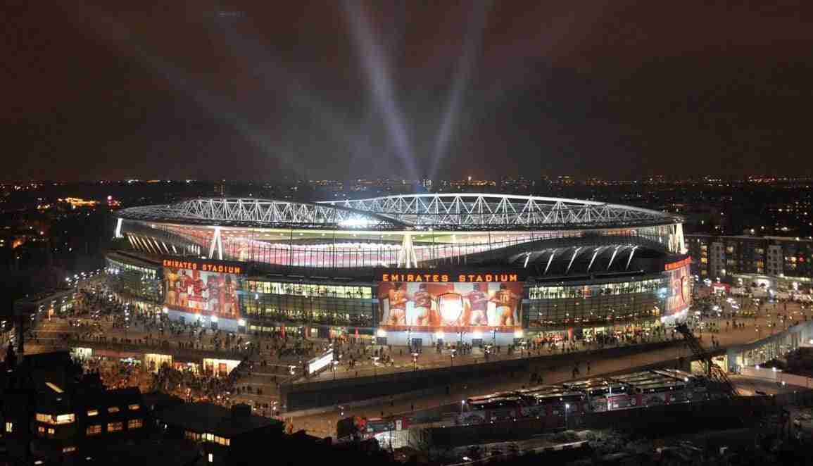 Emirates Stadium. Arsenal 2:1 Barcelona, UEFA Champions League, Emirates Stadium, Arsenal