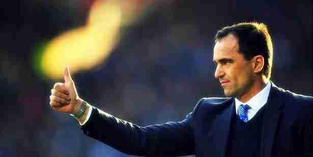 Roberto Martínez Everton