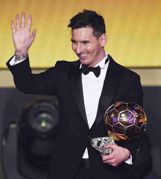 Messi y su quinto Balón de oro (Getty Images)