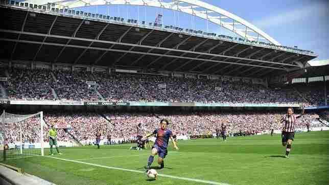 El Athletic-Barcelona congregó a 26.000 personas (El Correo)