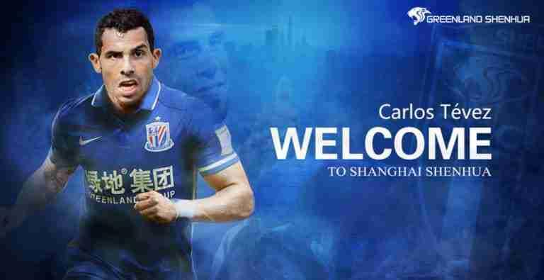CarlosTevez, fichaje del Shanghai (EFE)