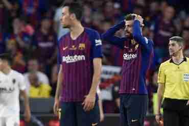 Piqué Busquets Valencia Copa