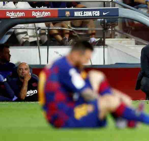 Messi Valverde lesión