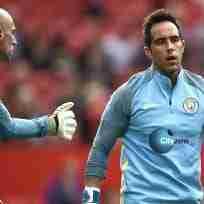 Bravo Caballero Manchester City