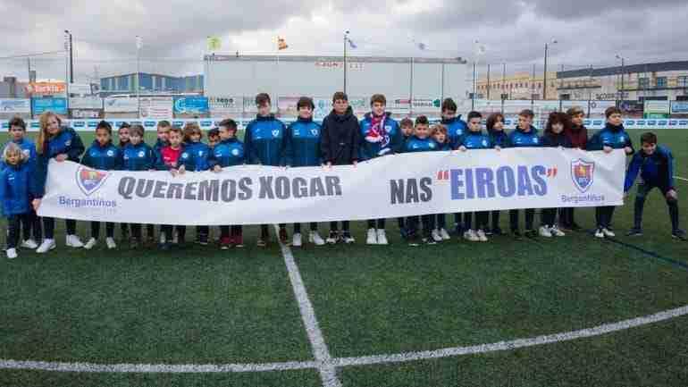 Bergantiños protesta Copa del Rey