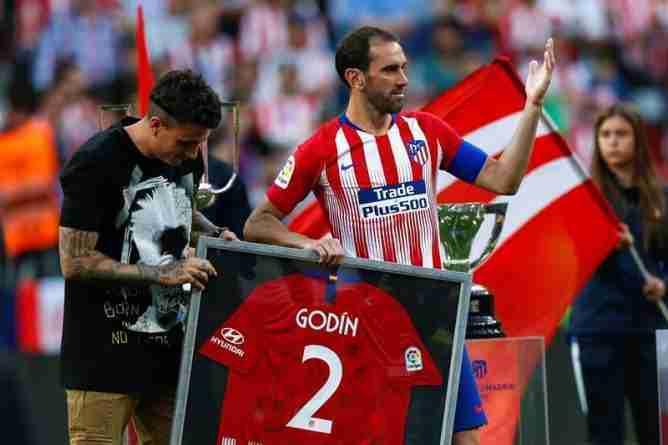 despedida de Godín Atlético de Madrid