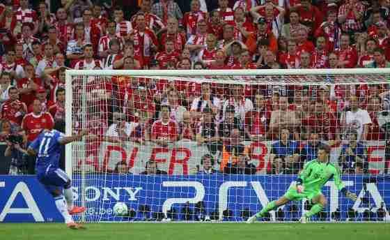 Chelsea Bayern en Munich Champions League 2012