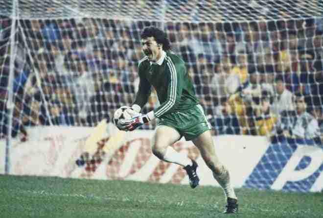 Helmuth Duckadam portero Steaua Bucarest
