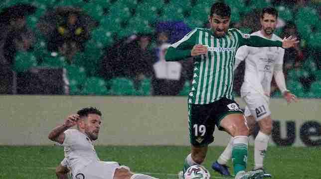 Eliminatoria Antoniano - Betis, disputada en el Benito Villamarín
