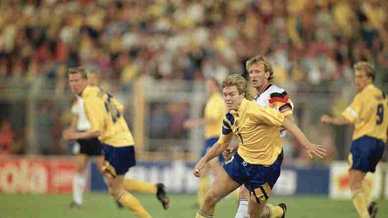 Tomas Brolin, mítico delantero sueco