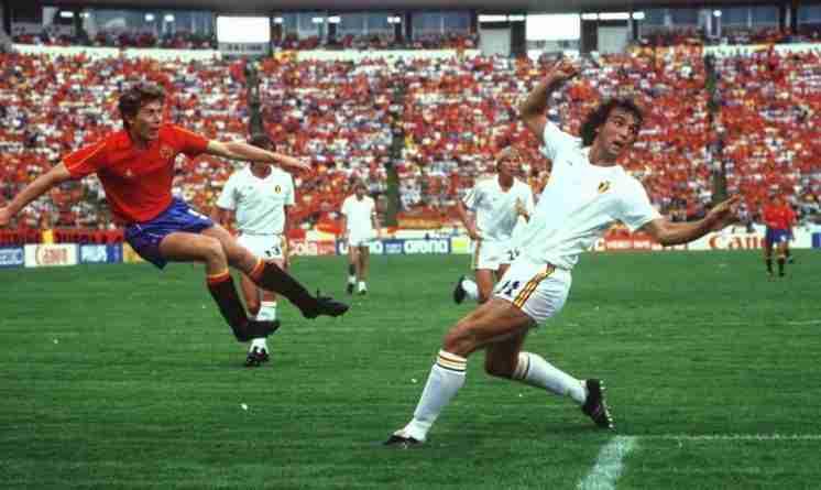 Butragueño España Belgica Mundial 1986