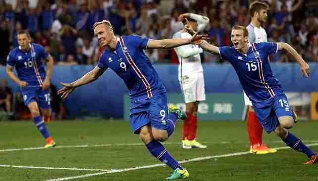 Sigþórsson gol Islandia Inglaterra octavos Eurocopa 2016