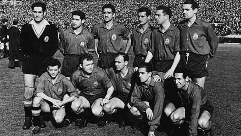 Kubala, Di Stefano, Luis Suárez o Paco Gento formaban parte de la formidable selección española de finales de los 50 y comienzos de los 60.