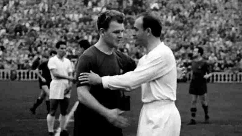Ladislao Kubala y Alfredo Di Stefano, leyendas y rivales en la Liga española