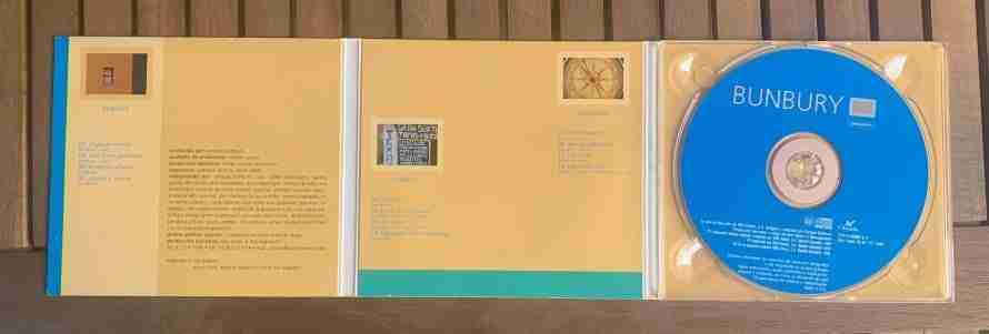 CD Albúm pequeños Bunbury