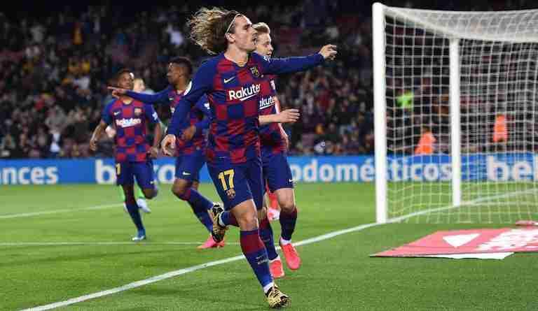 Griezmann gol Barcelona 2019-20