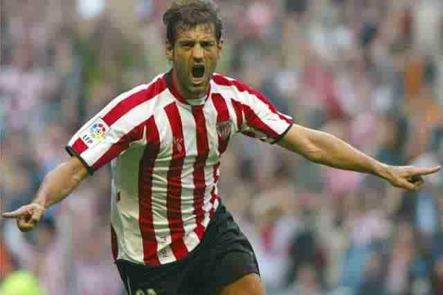 Ismael Urzaiz celebra gol Athletic Bilbao