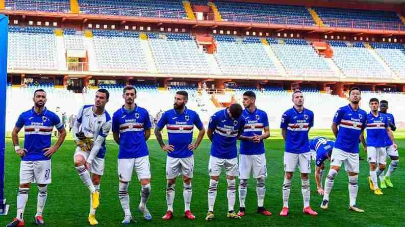 Serie A puerta cerrada Sampdoria