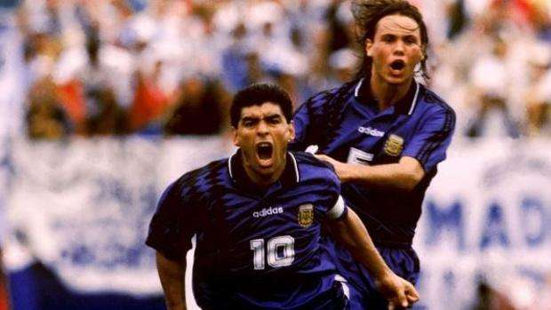 Maradona gol Estados Unidos 1994