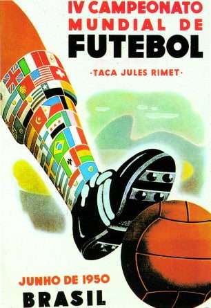 Cartel del Mundial de Brasil de 1950