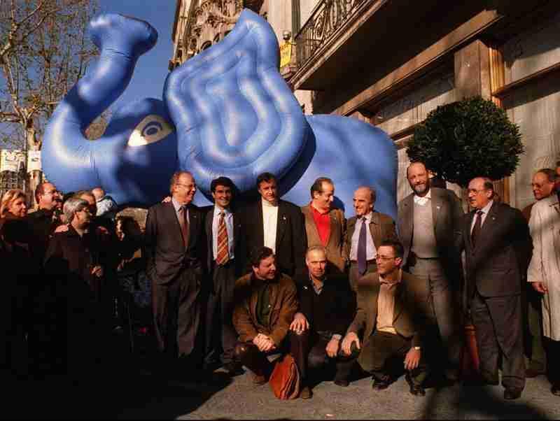 Elefant Blau Joan Laporta