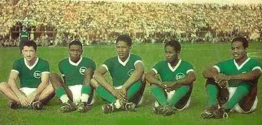 El Deportivo de Cali, conocido como el Rodillo Negro, con Valeriano López al frente.