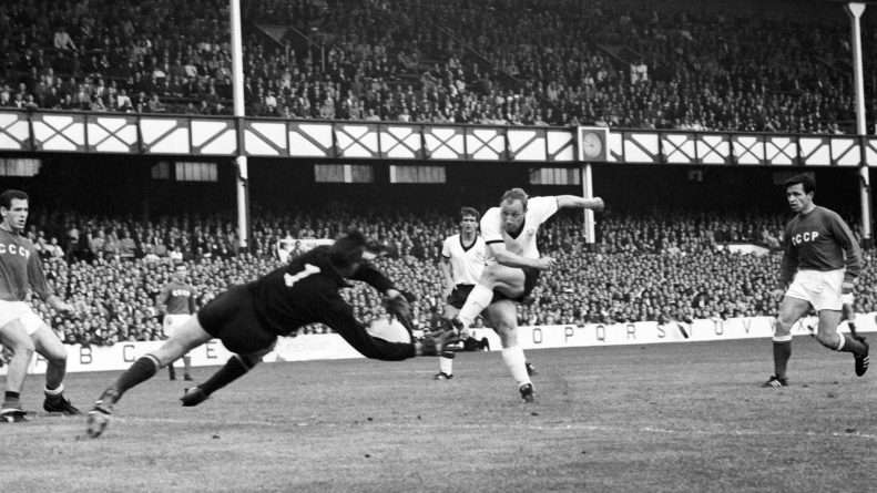 Lev Yashin fue campeón, con la URSS, de la Copa de Europa de Naciones en Francia, en 1960