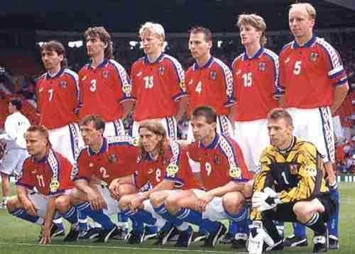 Selección de la República Checa 1996