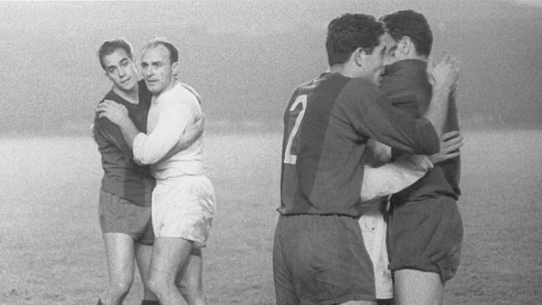 Rivales históricos, Luis Suáres y Alfredo Di Stéfano eran parte de una de las mejores selecciones españolas de la historia.