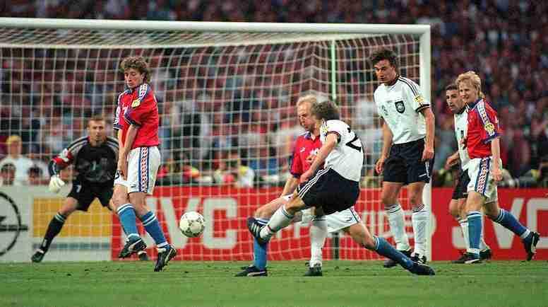 Final Alemania - República Checa 1996