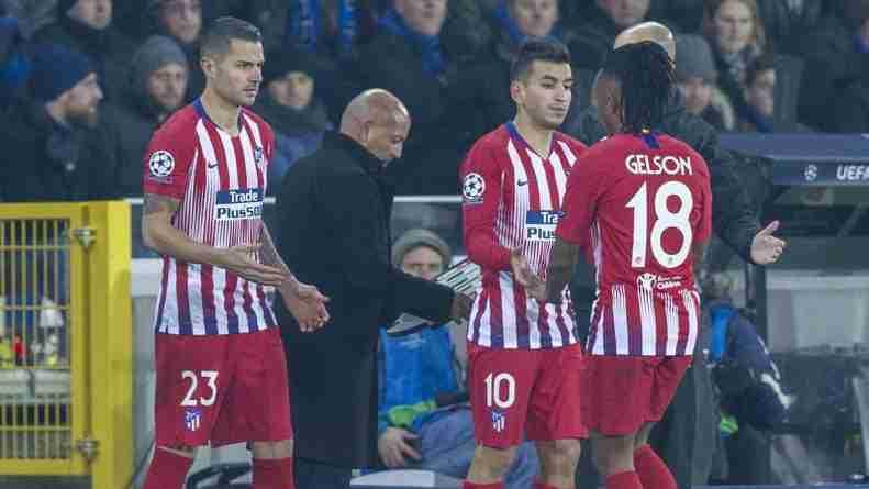 cambios Atlético de Madrid