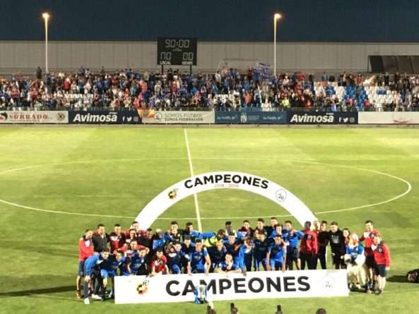 Fuenlabrada campeón Segunda B en la 2018-2019