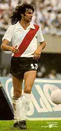 Mario Alberto Kempes en su año en River Plate
