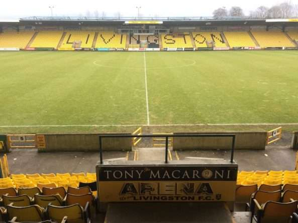 Tony Macaroni Arena Livingston