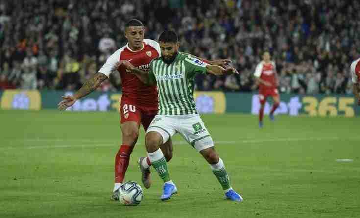 Fekir y Diego Carlos Sevilla Betis