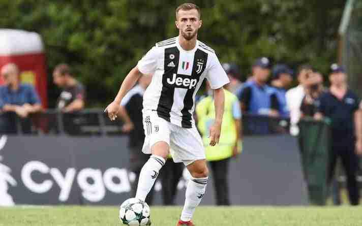 Pjanic con la Juventus