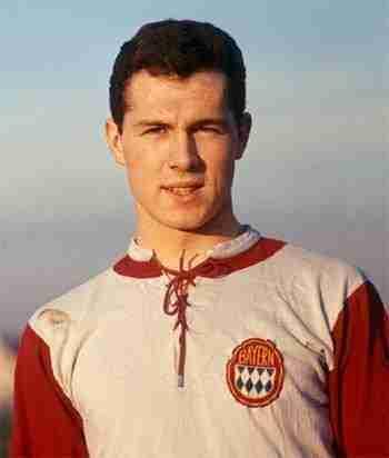 Franz Beckenbauer joven