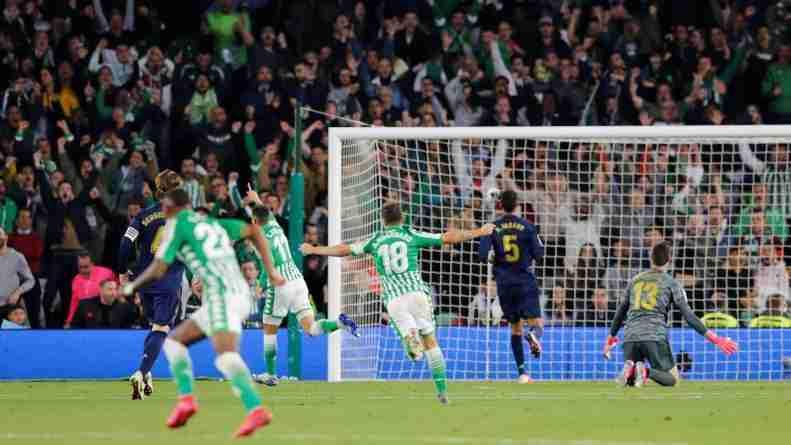 Tello gol Real Madrid 2-1 2020