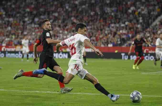 Jesús Navas ha sido, a sus 34 años, el mejor lateral derecho en la Liga española y no da señales de agotamiento.