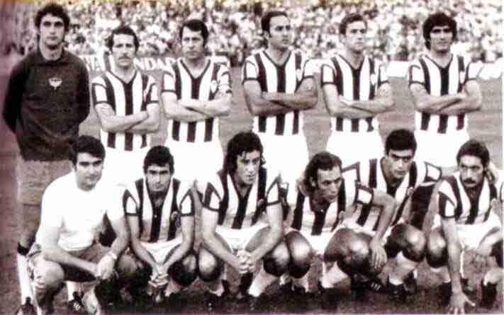 Once Castellón el 29 de junio de 1973