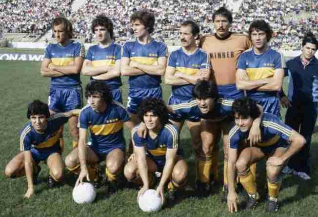 Once de Boca Juniors en el Metropolitano de 1981