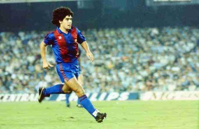 Diego Maradona FC Barcelona