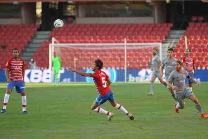 Luis Milla, del Granada, uno de los jugadores más destacados en la primera jornada de La Liga española