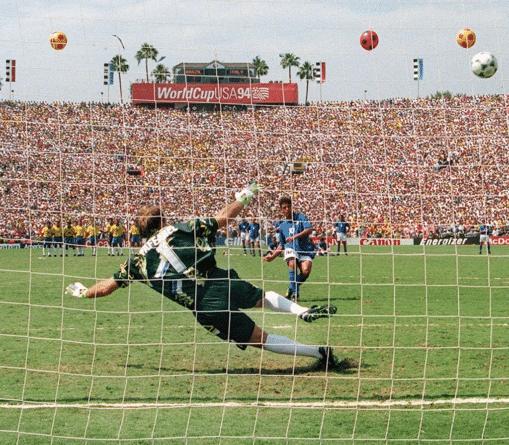 Roberto Baggio Penalti Italia Brasil